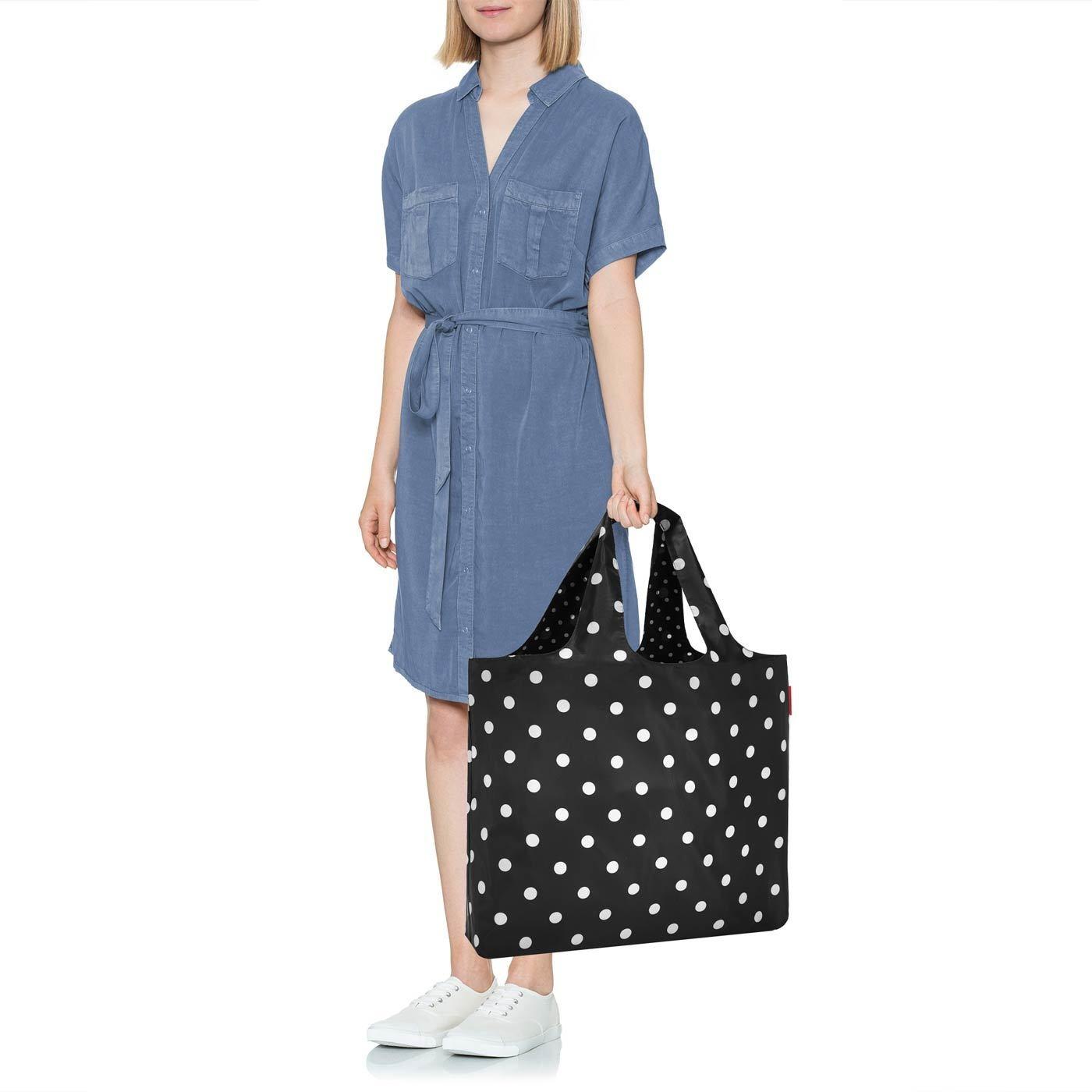 Skládací taška Mini Maxi Beachbag mixed dots_1