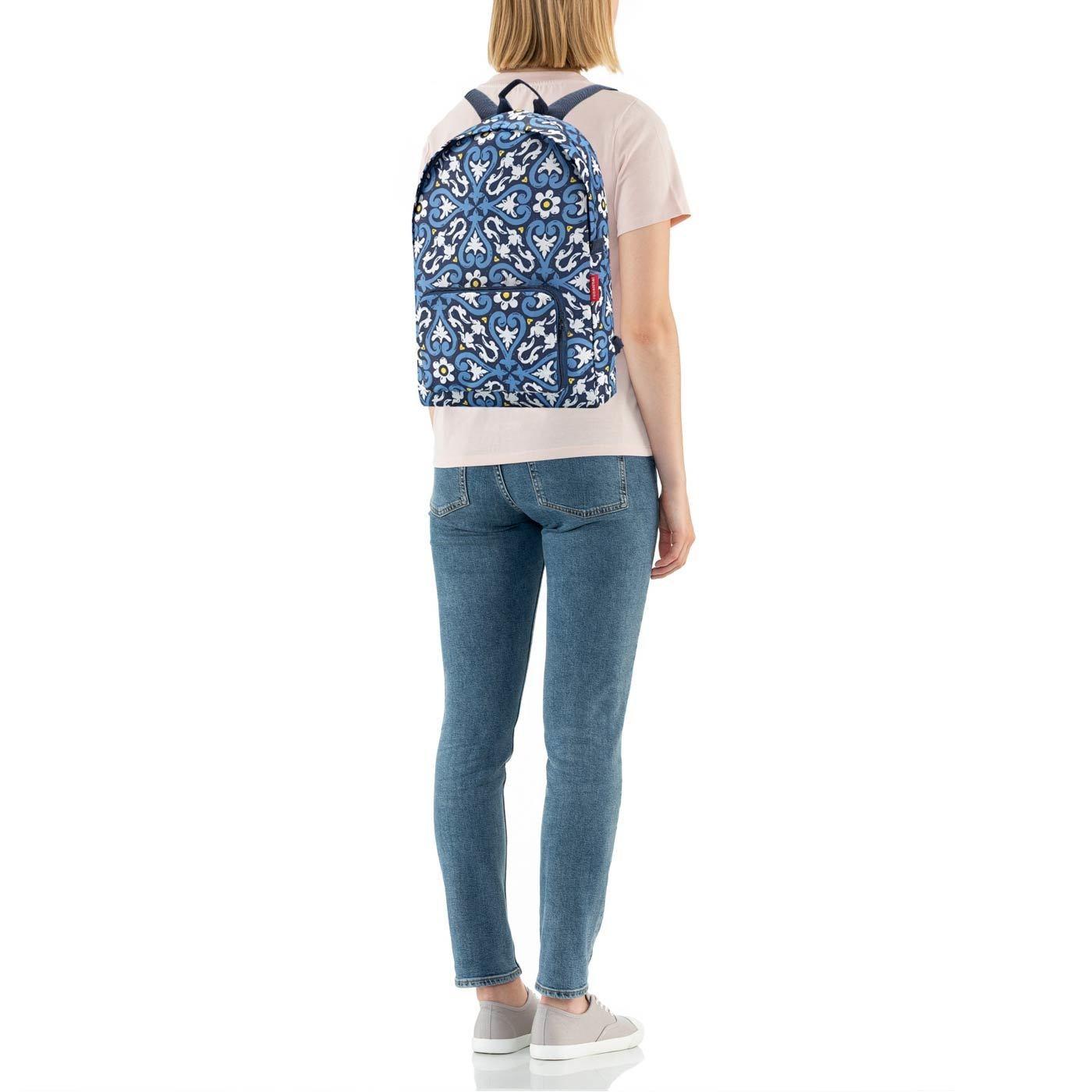 Skládací batoh Mini Maxi Rucksack floral 1_2