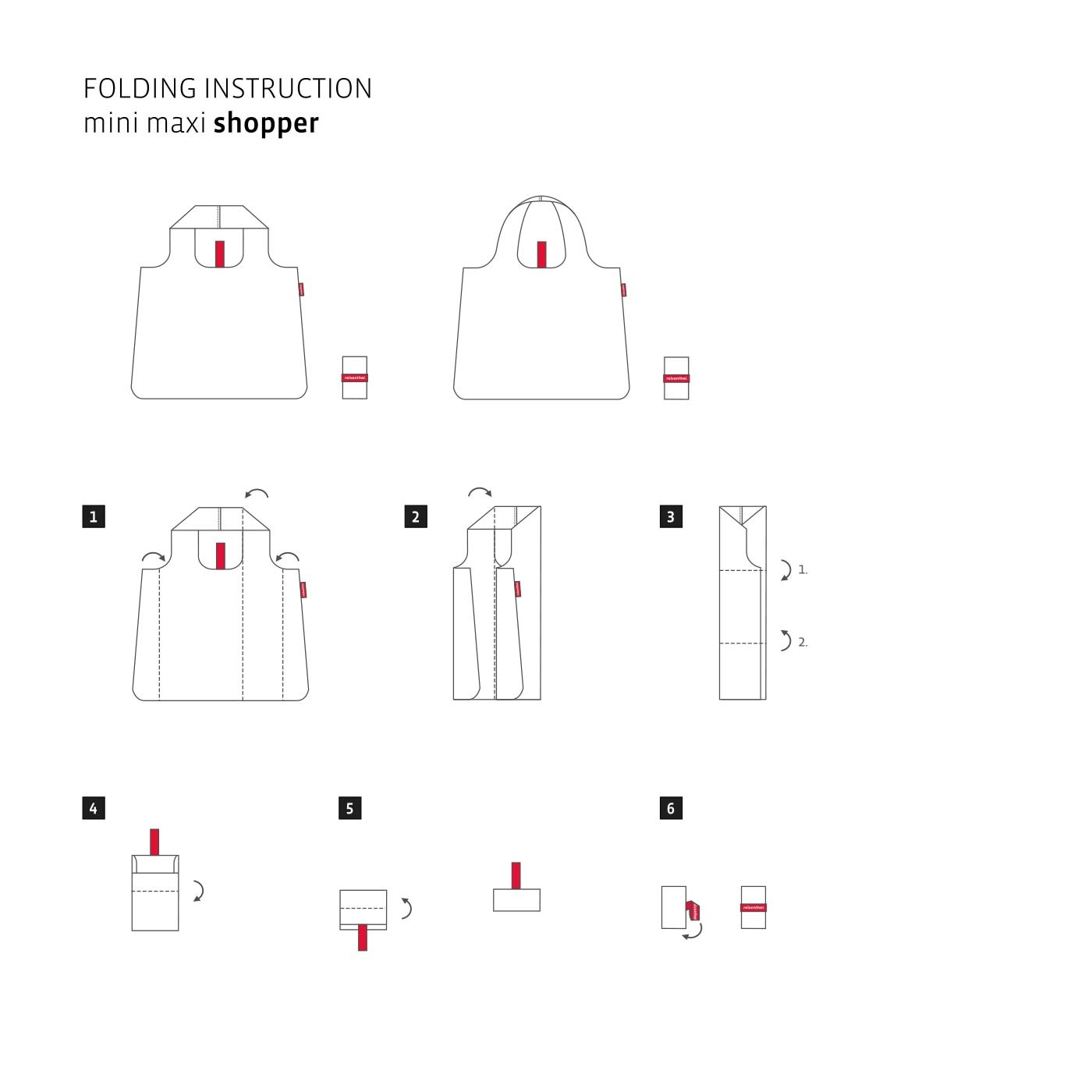 Skládací taška Mini Maxi Shopper autumn 1_1