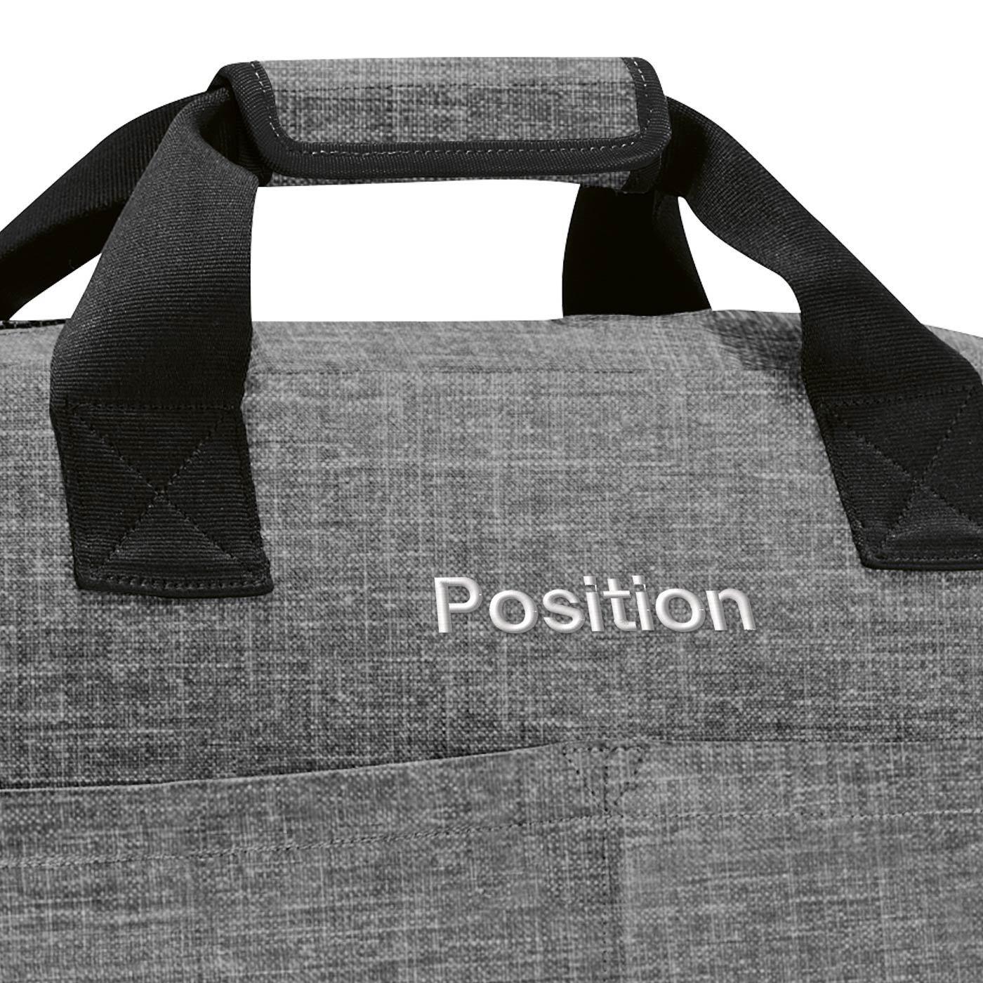 Cestovní taška Overnighter twist silver_2