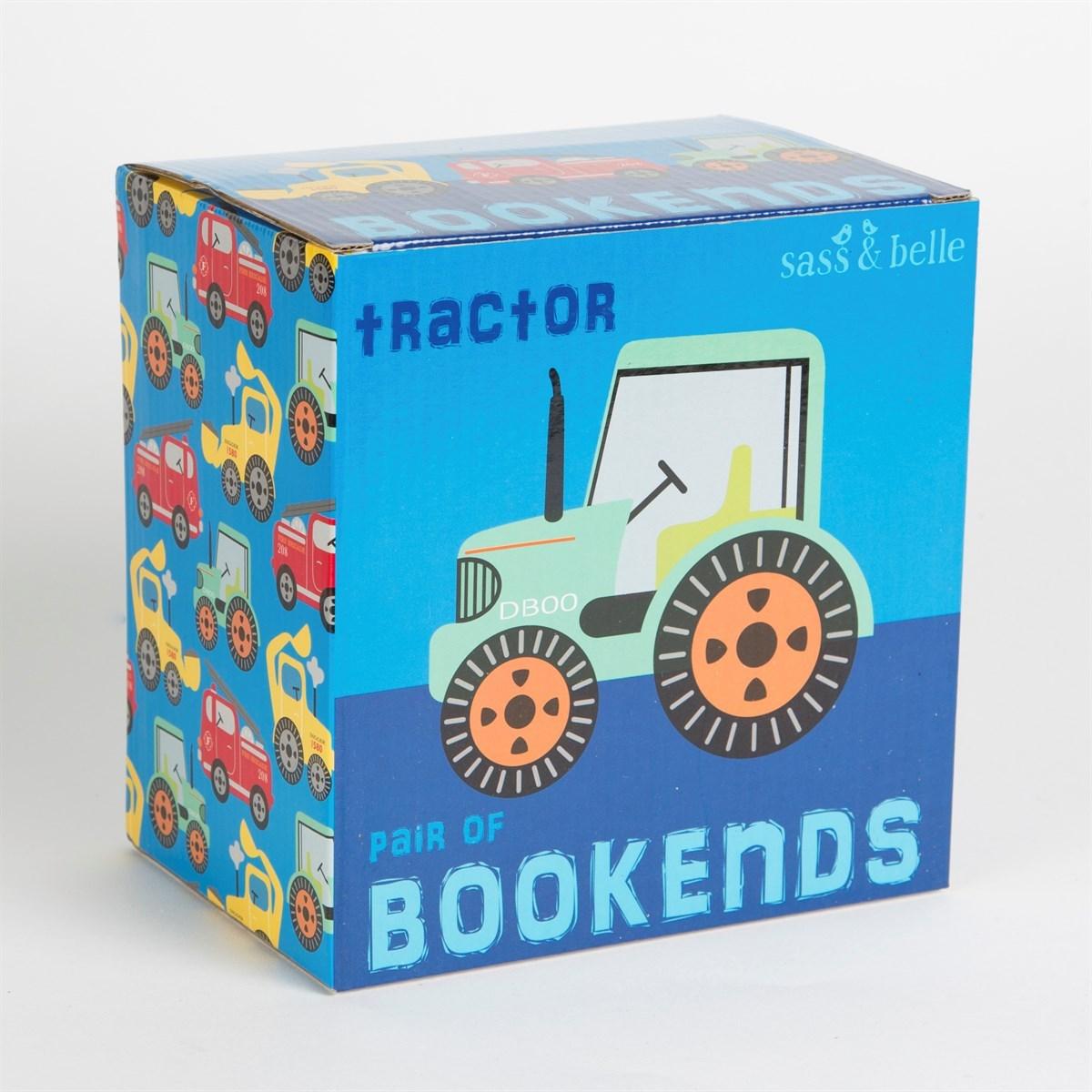 Zarážky na knížky GREEN TRACTOR SET/2ks_1