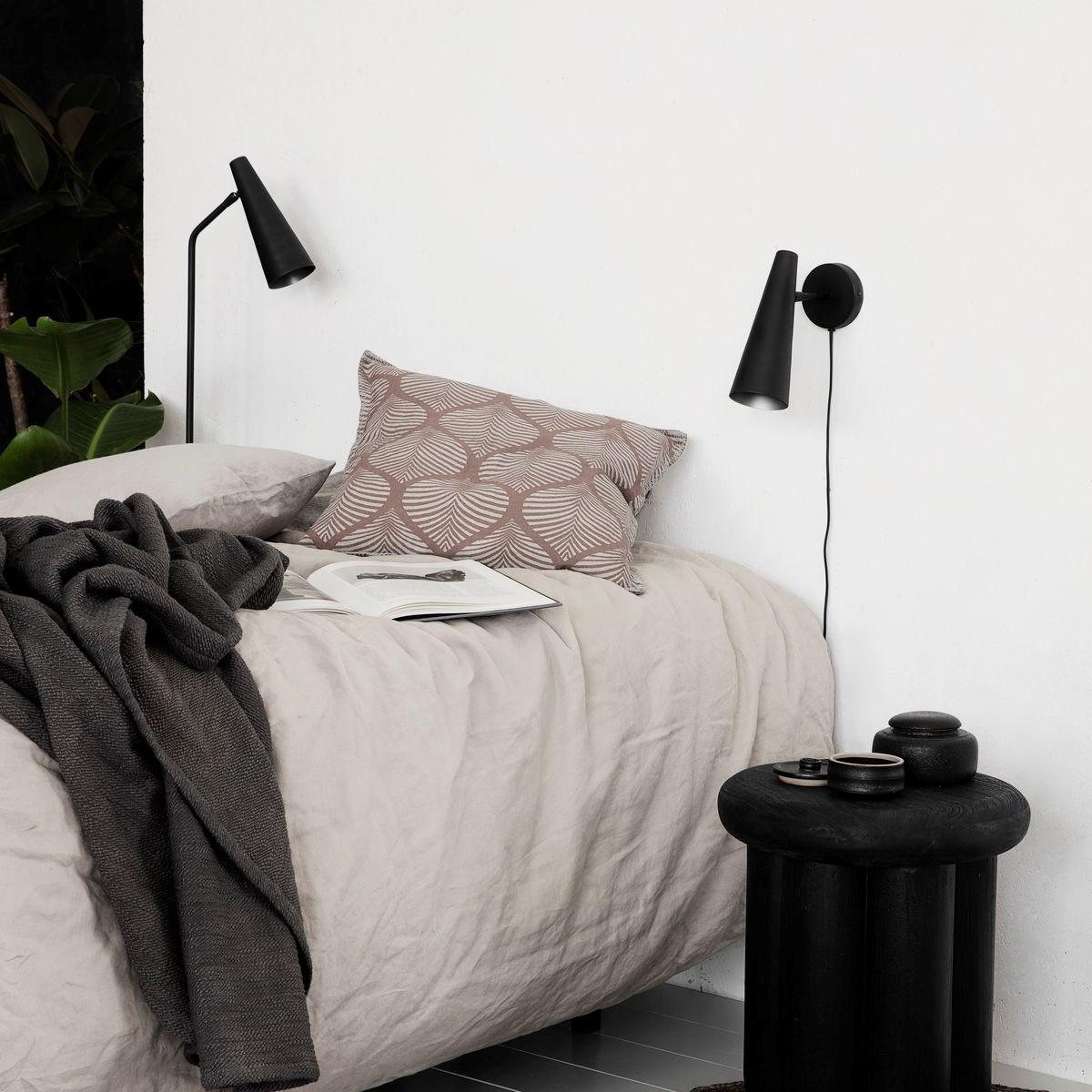 Nástěnná lampa PRECISE černá matná_1