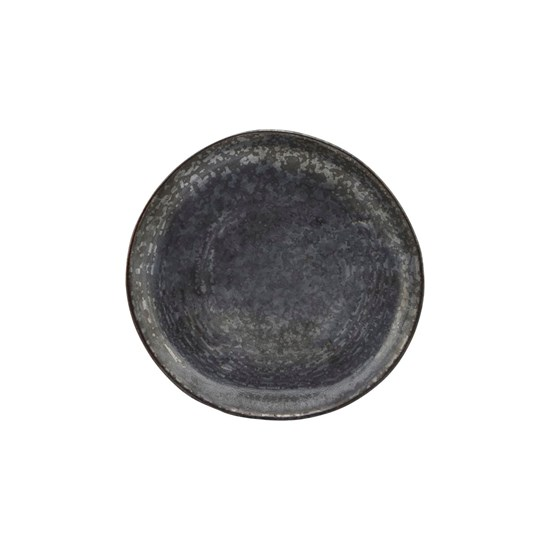 Dezertní talíř PION černá/hnědá_2
