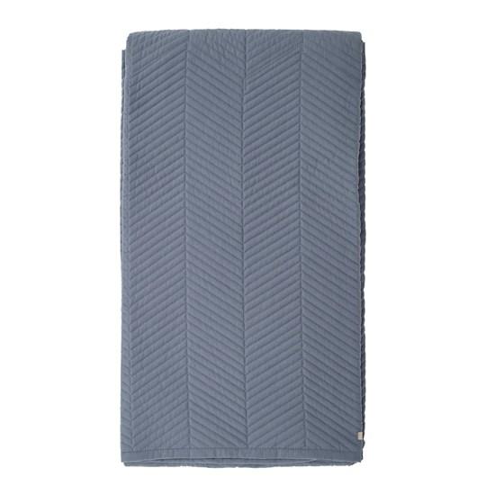 Přehoz na postel modrý 200x140 cm_0