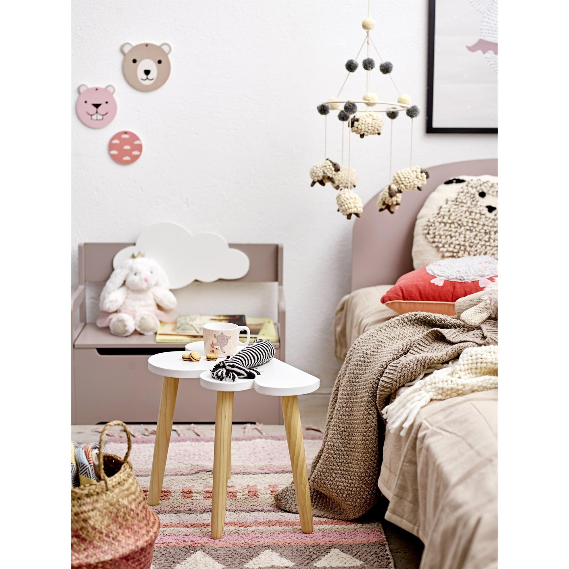 Bavlněný přehoz na postel 220x150 cm sv. hnědý_2