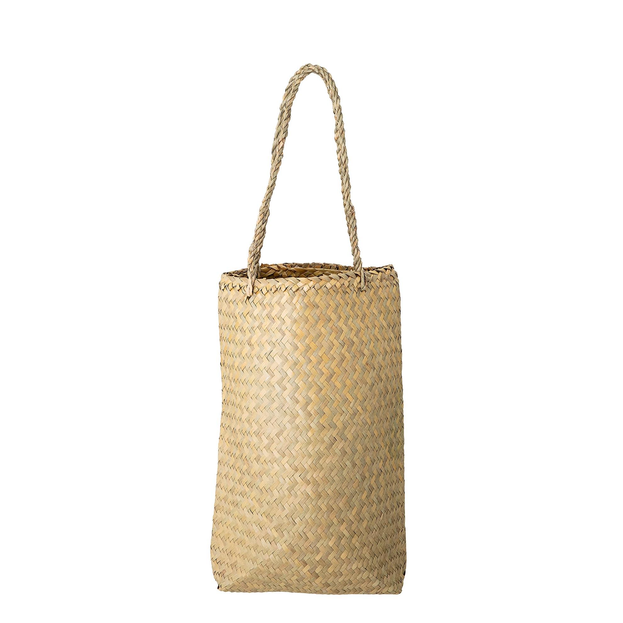 Taška z mořské trávy na zavěšení  26,5x10xV.35 cm_2
