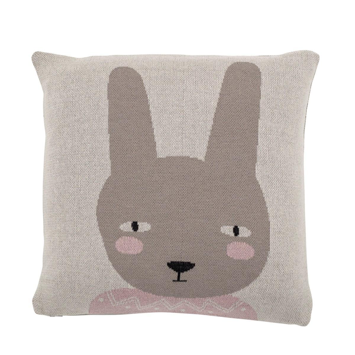 Bavlněný polštář Rabbit vč. výplně 45x45 cm_1