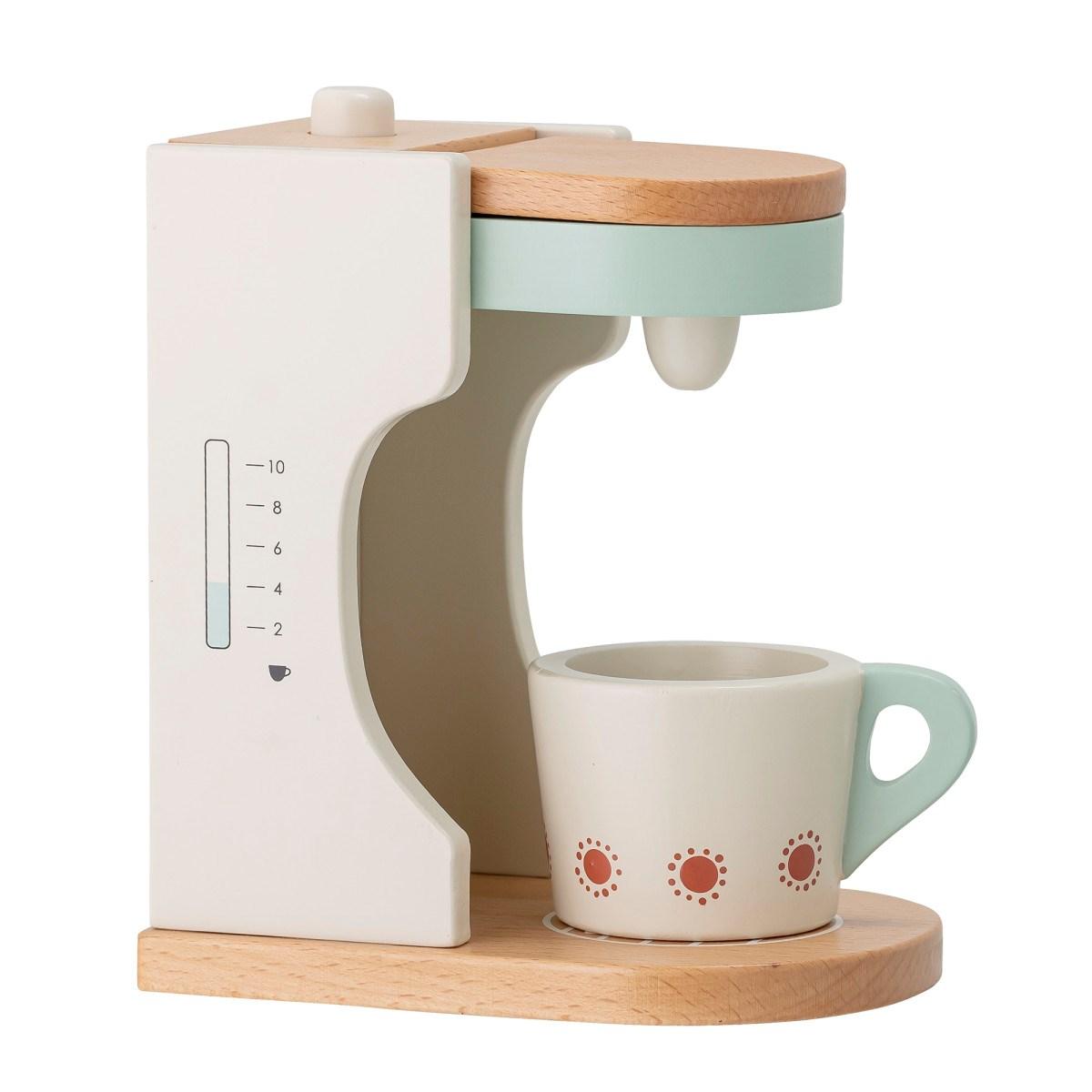 Dětský dřevěný kávovar s šálkem 18xV.15,5 cm_0