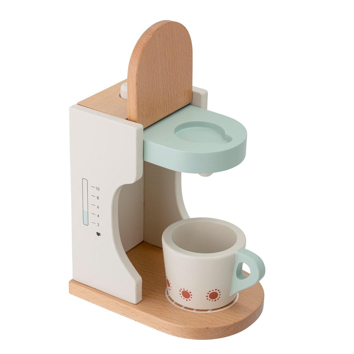 Dětský dřevěný kávovar s šálkem 18xV.15,5 cm_4