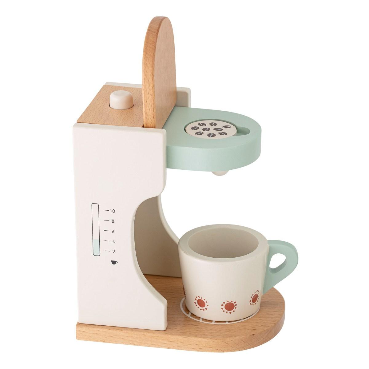 Dětský dřevěný kávovar s šálkem 18xV.15,5 cm_5
