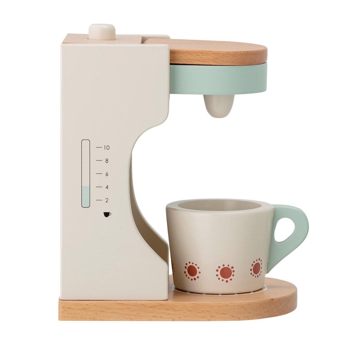 Dětský dřevěný kávovar s šálkem 18xV.15,5 cm_8