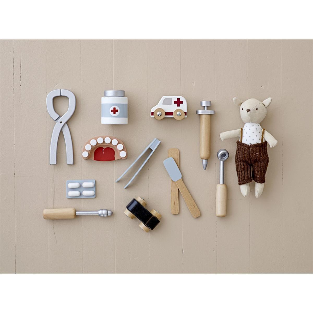 Dřevěný dětský set zubní ordinace Dentist SET/9ks_1