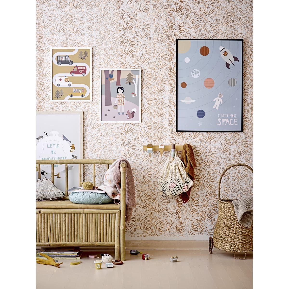 Dřevěný obraz do dětského pokoje 32xV.42 cm_0