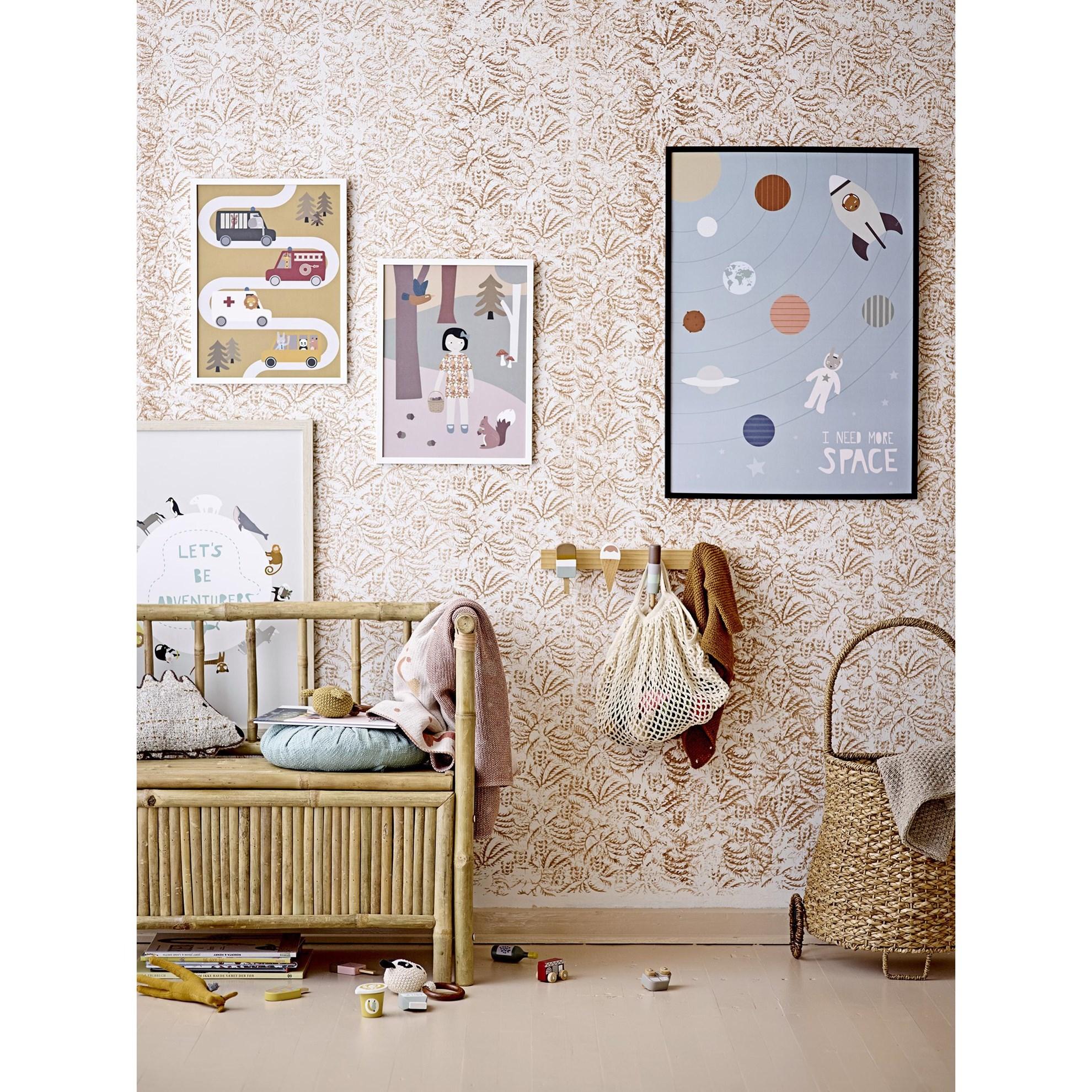 Dřevěný obraz do dětského pokoje 32xV.42 cm_2