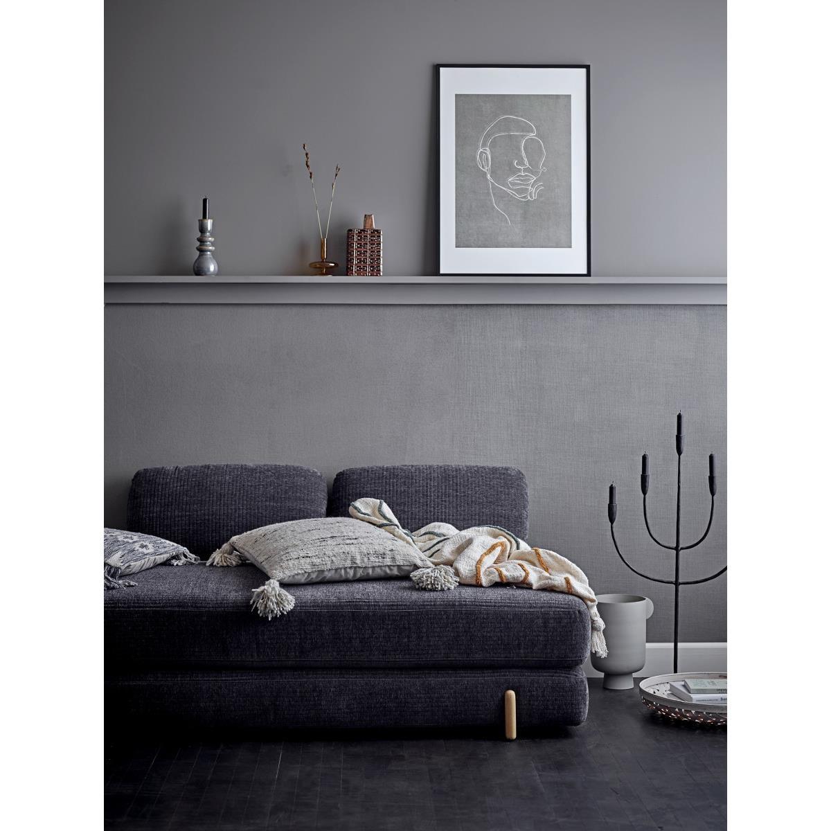 Obraz v černém dřevěném rámu Hake 52x72 cm_2