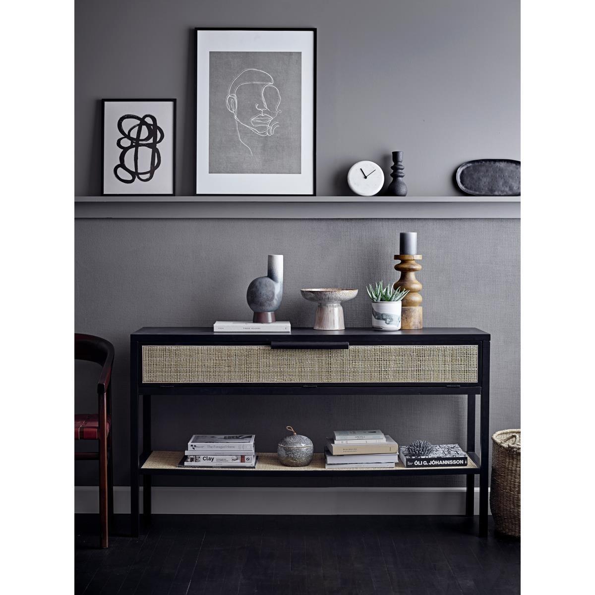 Obraz v černém dřevěném rámu Hake 52x72 cm_3