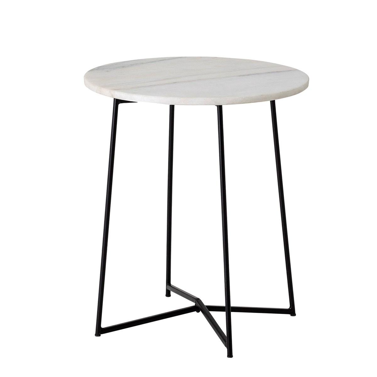 Odkládací stolek Anou s mramorovou deskou P.31 cm_1