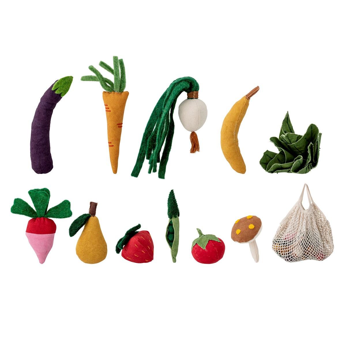 Dětská sada ovoce a zeleniny včetně bavlněné síťovky SET/12ks_4