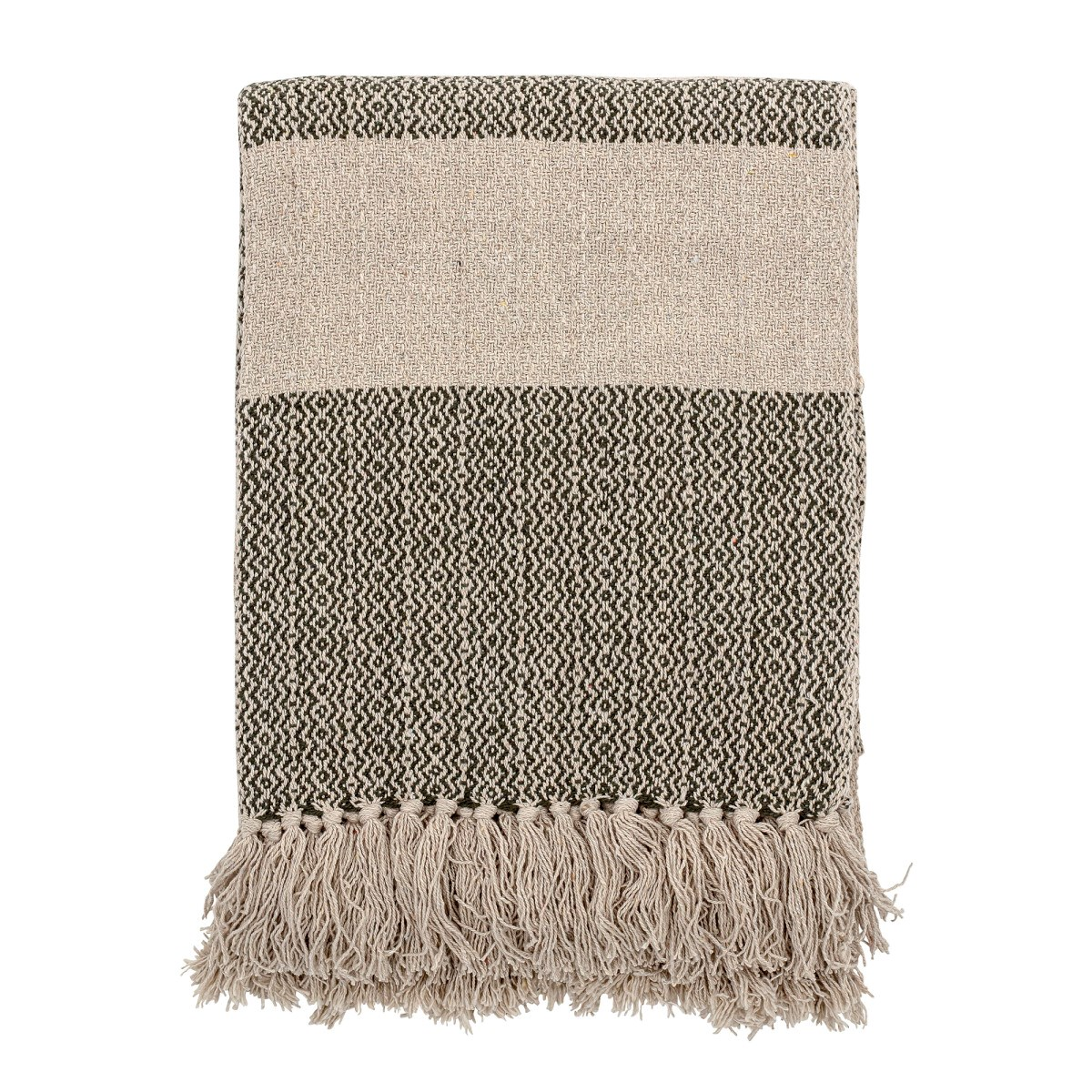 Pléd FIDA z recyklované bavlny 160x130 cm_0