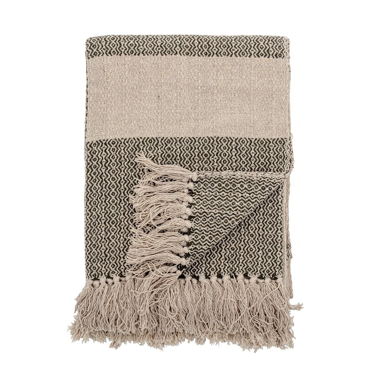 Pléd FIDA z recyklované bavlny 160x130 cm_2