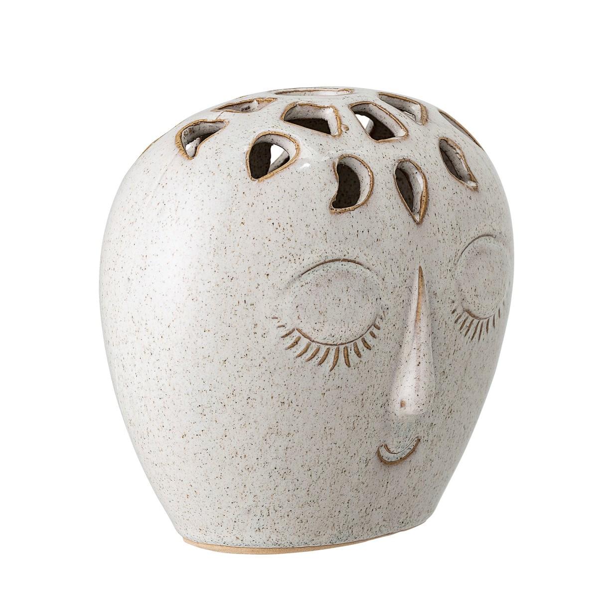 Kameninová váza Face 15,5xV14,5 cm_0
