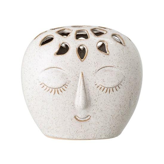 Kameninová váza Face 15,5xV14,5 cm_4