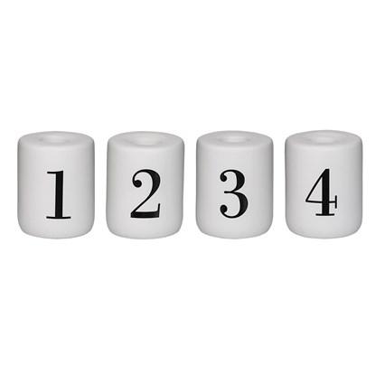 Adventní svícny SET/4 ks pro svíčky P. 2,2 cm_0
