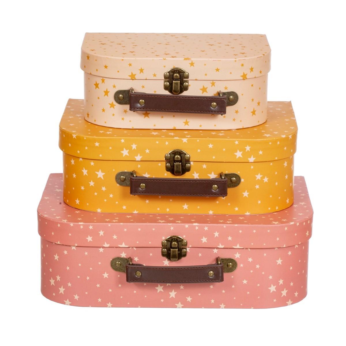 Dětské kufříky Little Stars SET/3ks_0