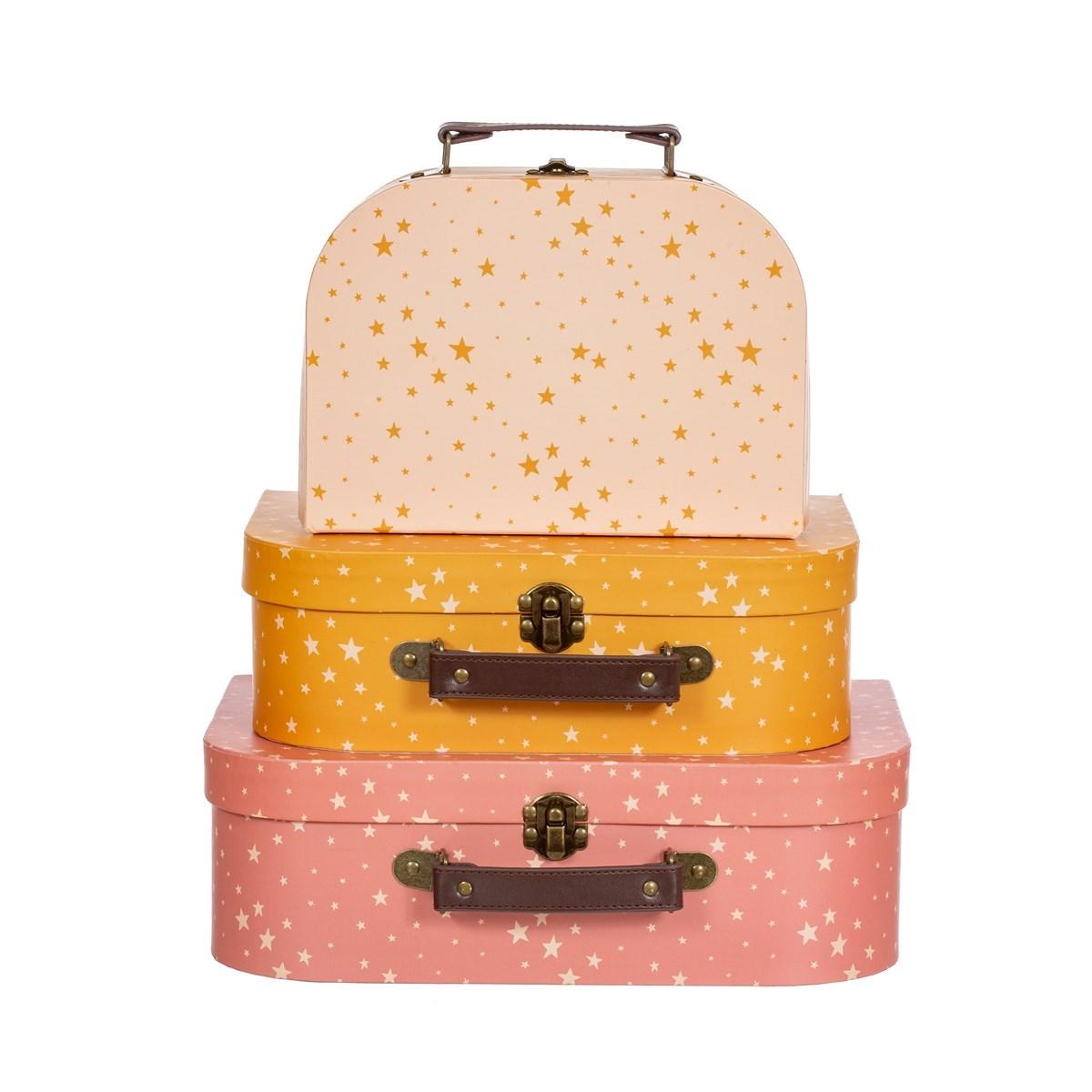 Dětské kufříky Little Stars SET/3ks_5