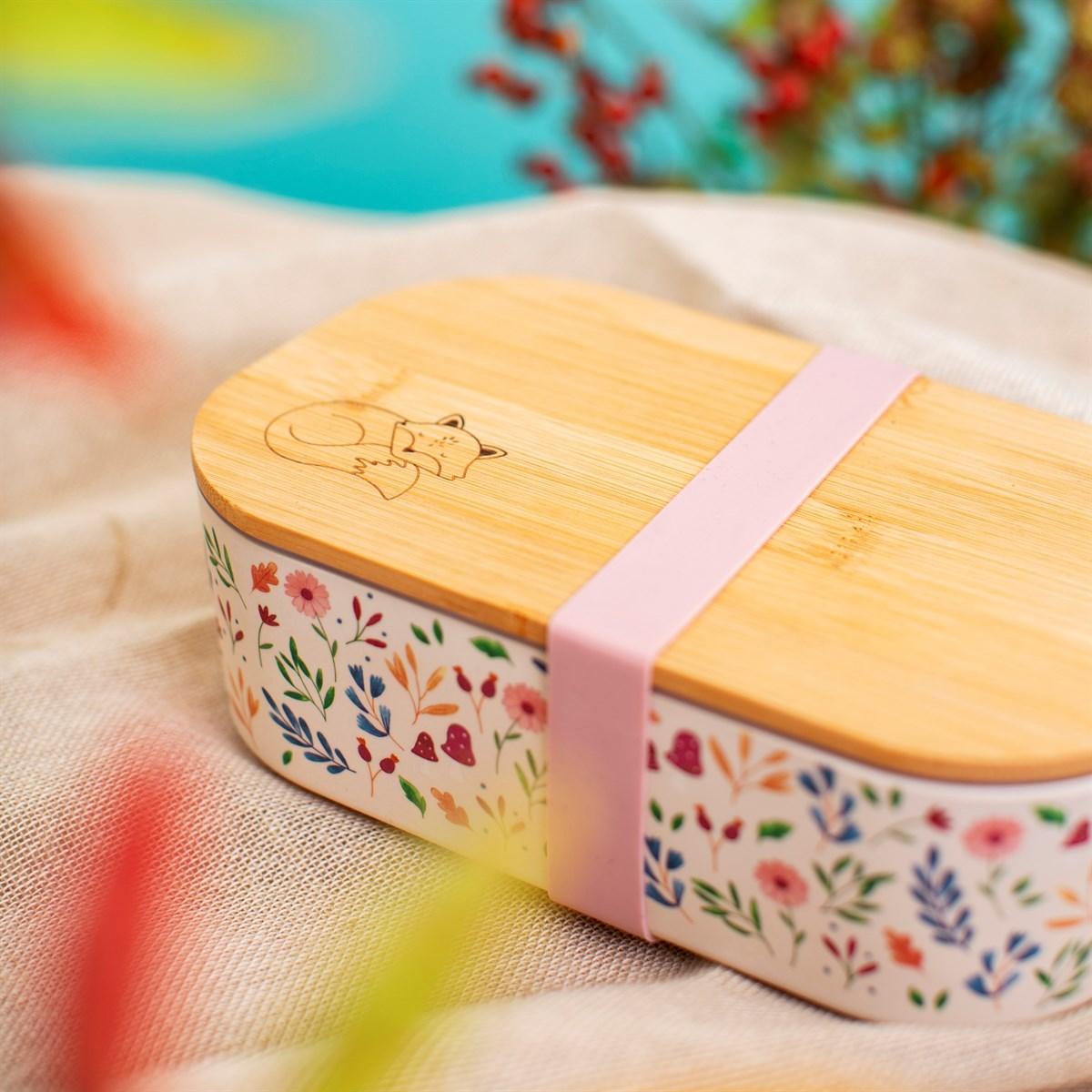 Bambusový box na svačinu Forest Folk_0