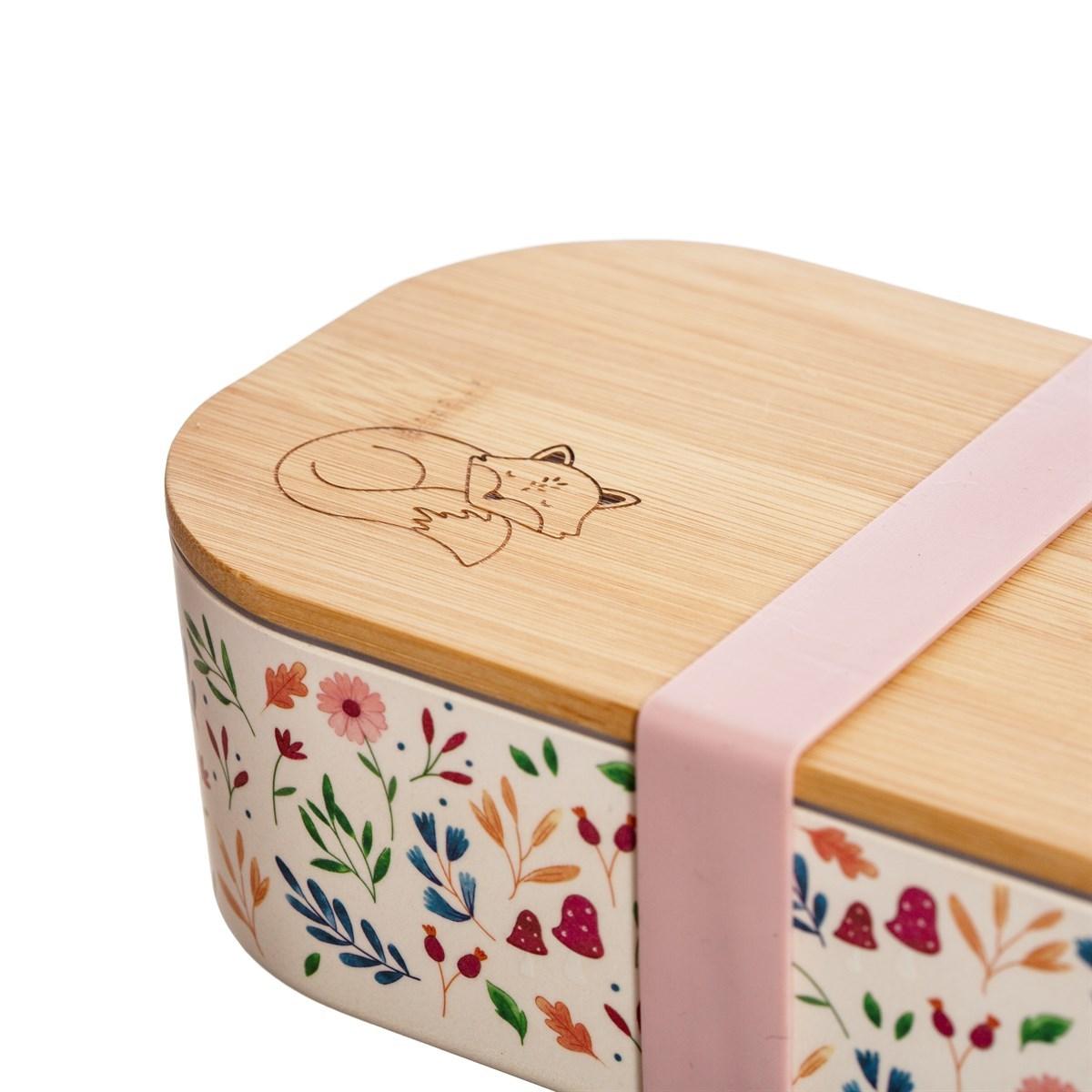 Bambusový box na svačinu Forest Folk_1