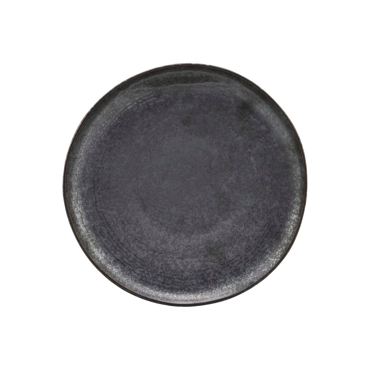 Mělký talíř PION P 21,5 cm černo hnědý_2