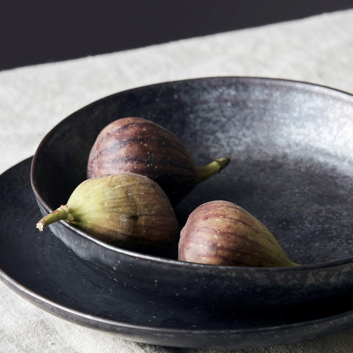 Hluboký talíř PION P.19 cm černo hnědá_0