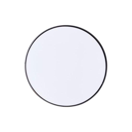 Zrcadlo REFLEKTION Reflektion matný černý kov_1