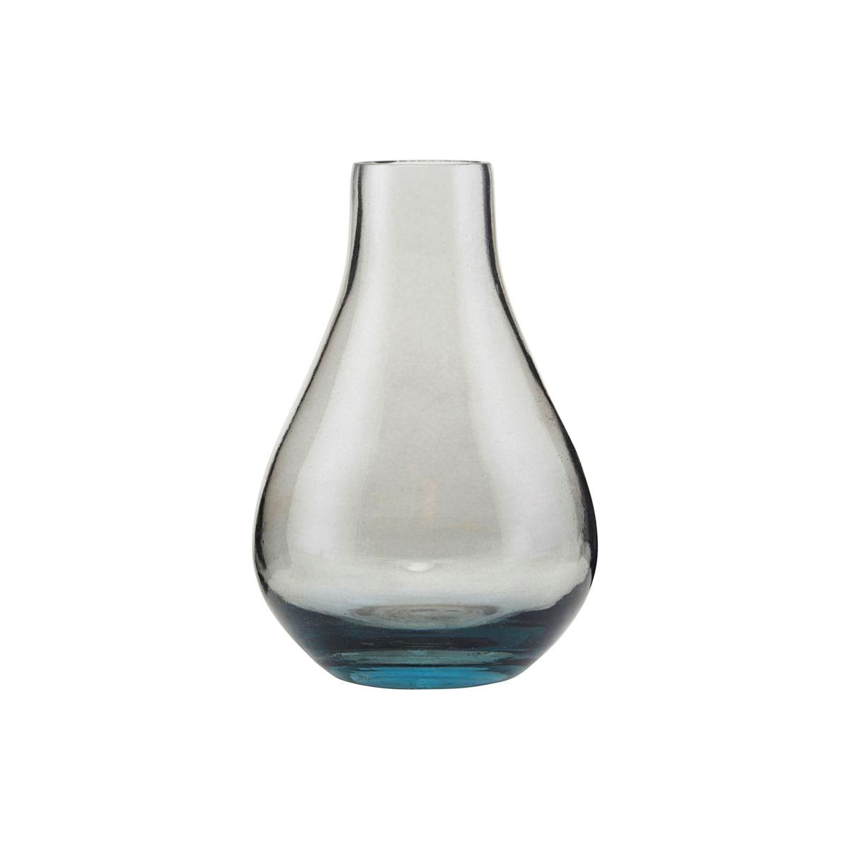 Váza SANDRA kouřově šedá_2