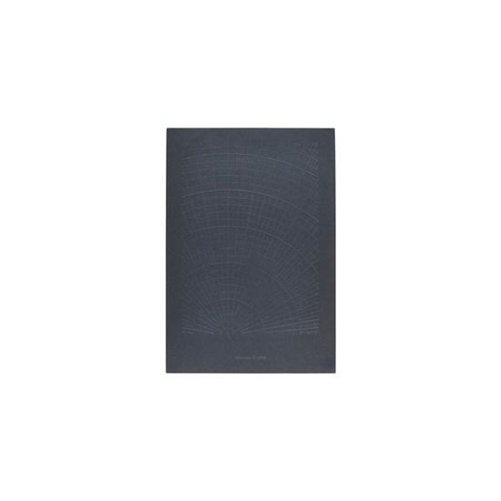Poznámkový blok POLAR tmavě modrý/ bez linek_0
