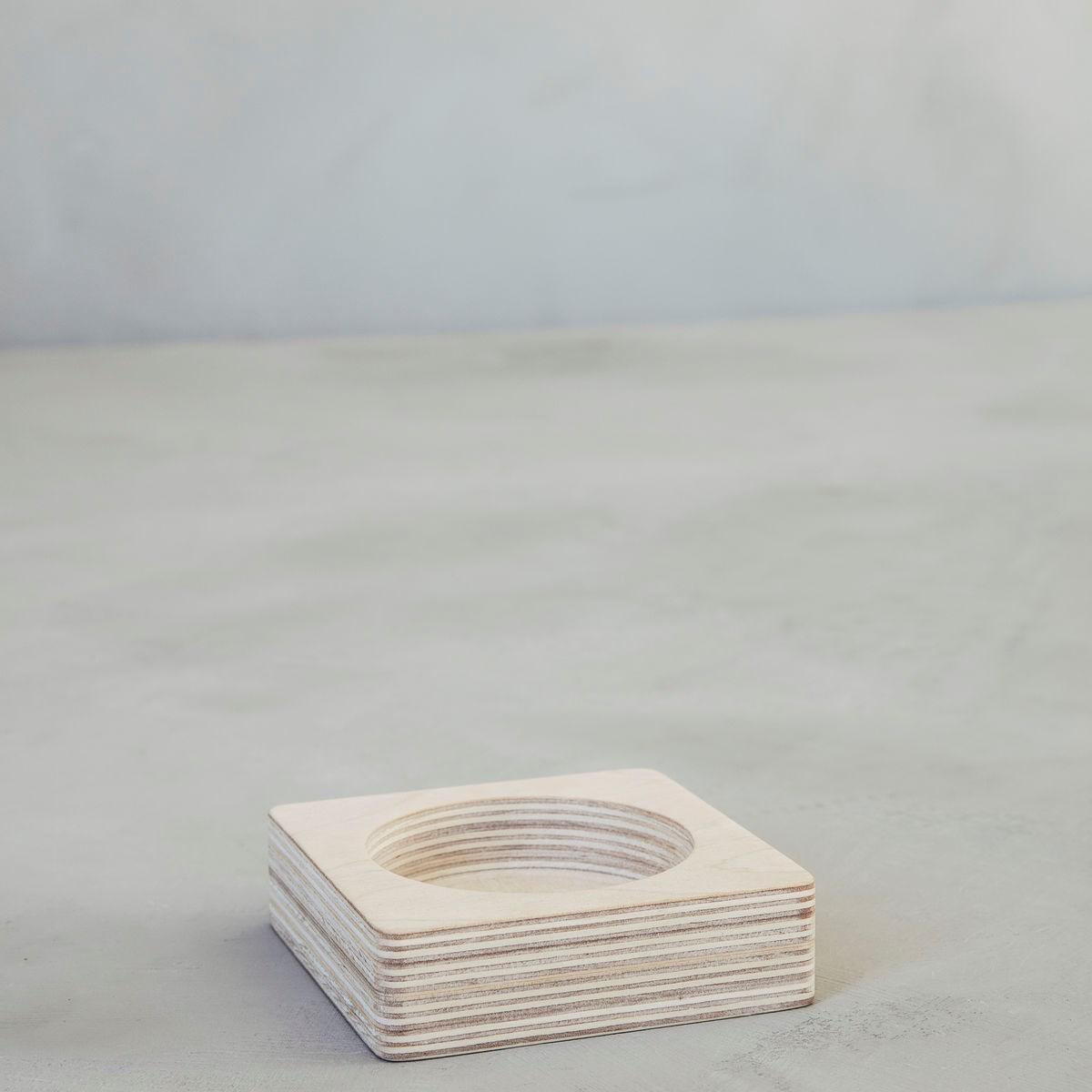 Úložný zásobník na gumy/ sponky ROUND dýha_0