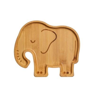 Bambusový talířek Woodland Elephant_1