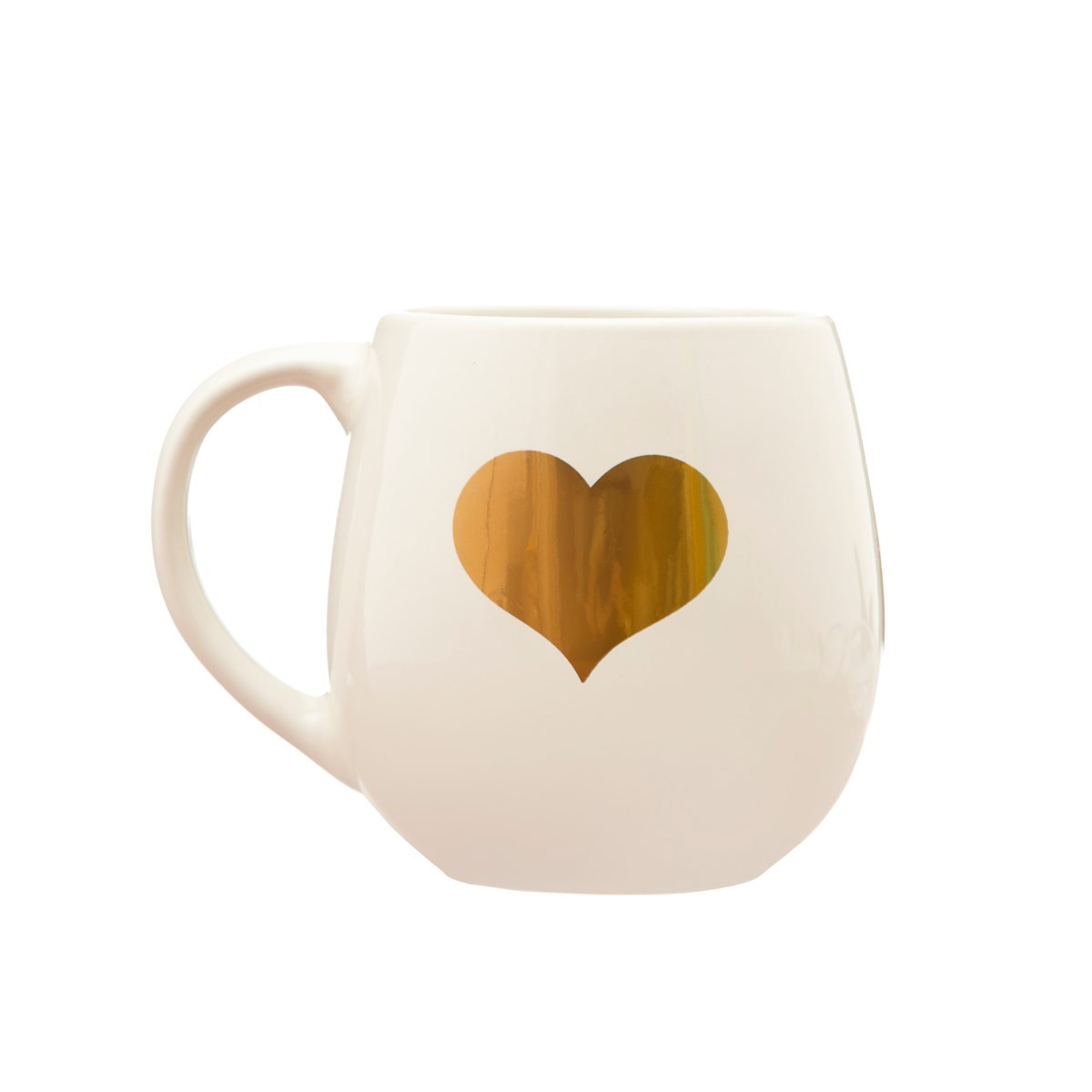 Keramický hrnek Gold Heart_1