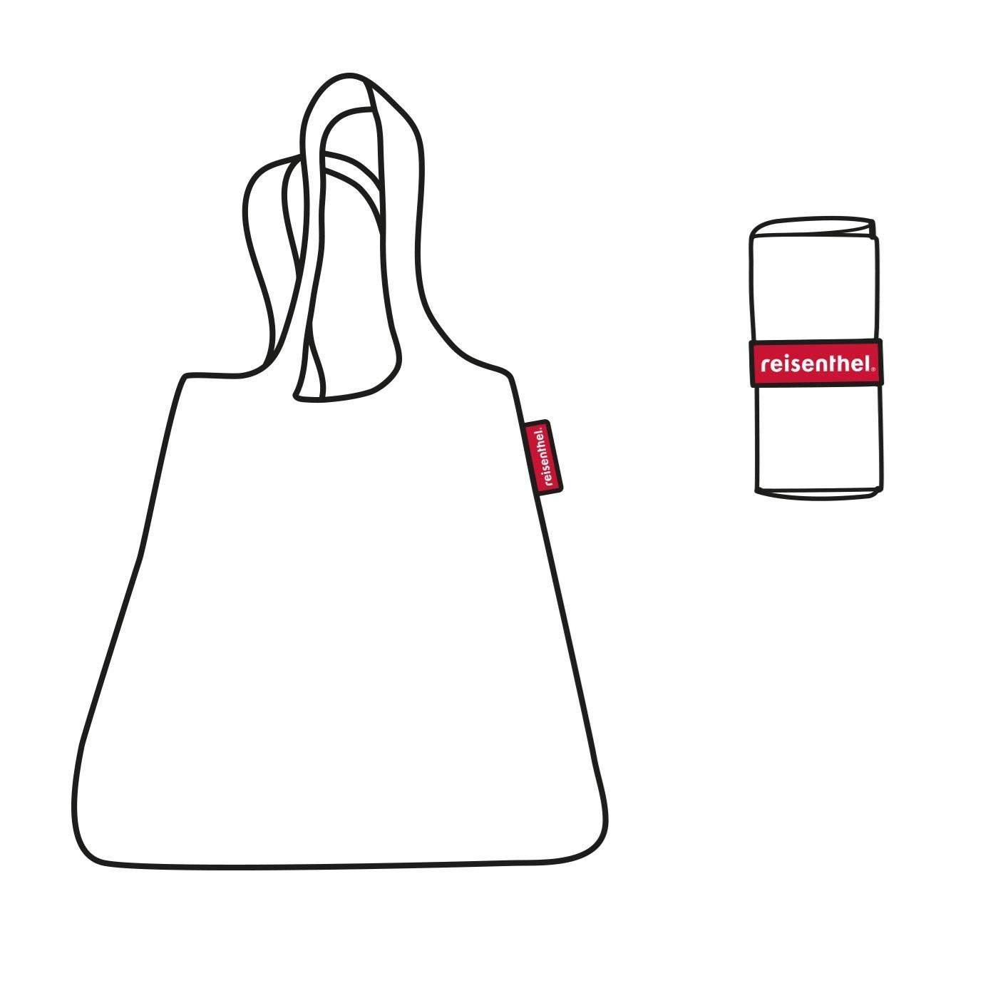 Obrázek z Skládací taška Mini Maxi Shopper zebra