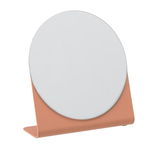 Kovové zrcátko na postavení sv. oranžové_0