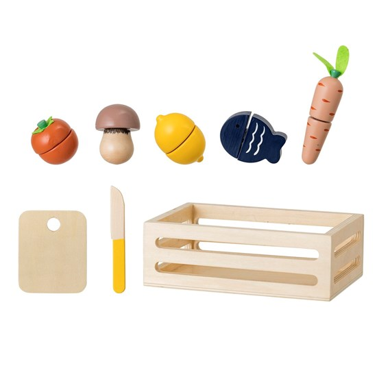 Dřevěný hrací set v bedýnce 8 kusů_5