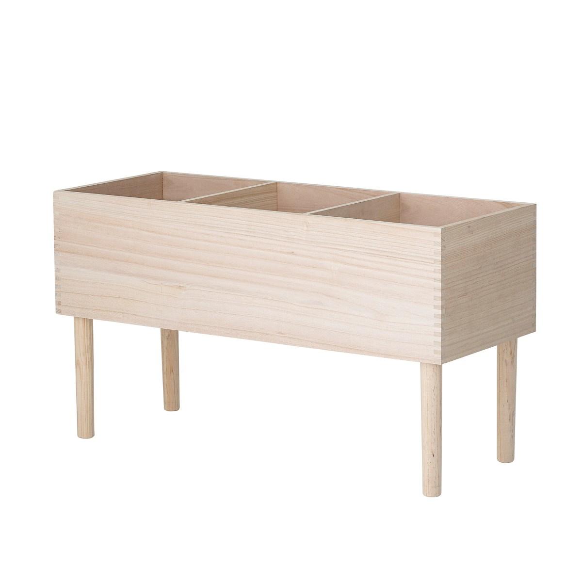 Dřevěná knihovna 91xV.50x35 cm_0
