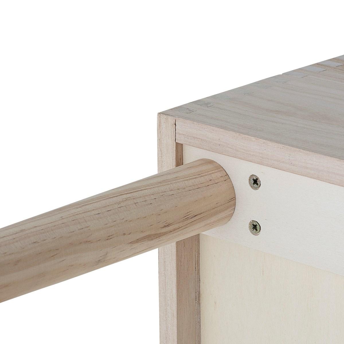 Dřevěná knihovna 91xV.50x35 cm_5