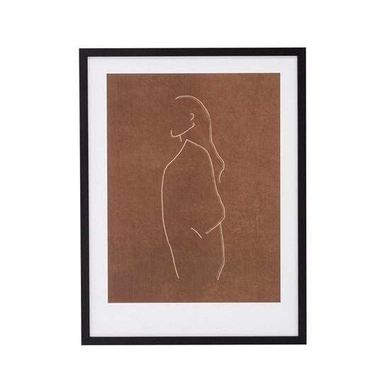 Obraz v černém dřevěném rámu Hadil 32x42 cm_7