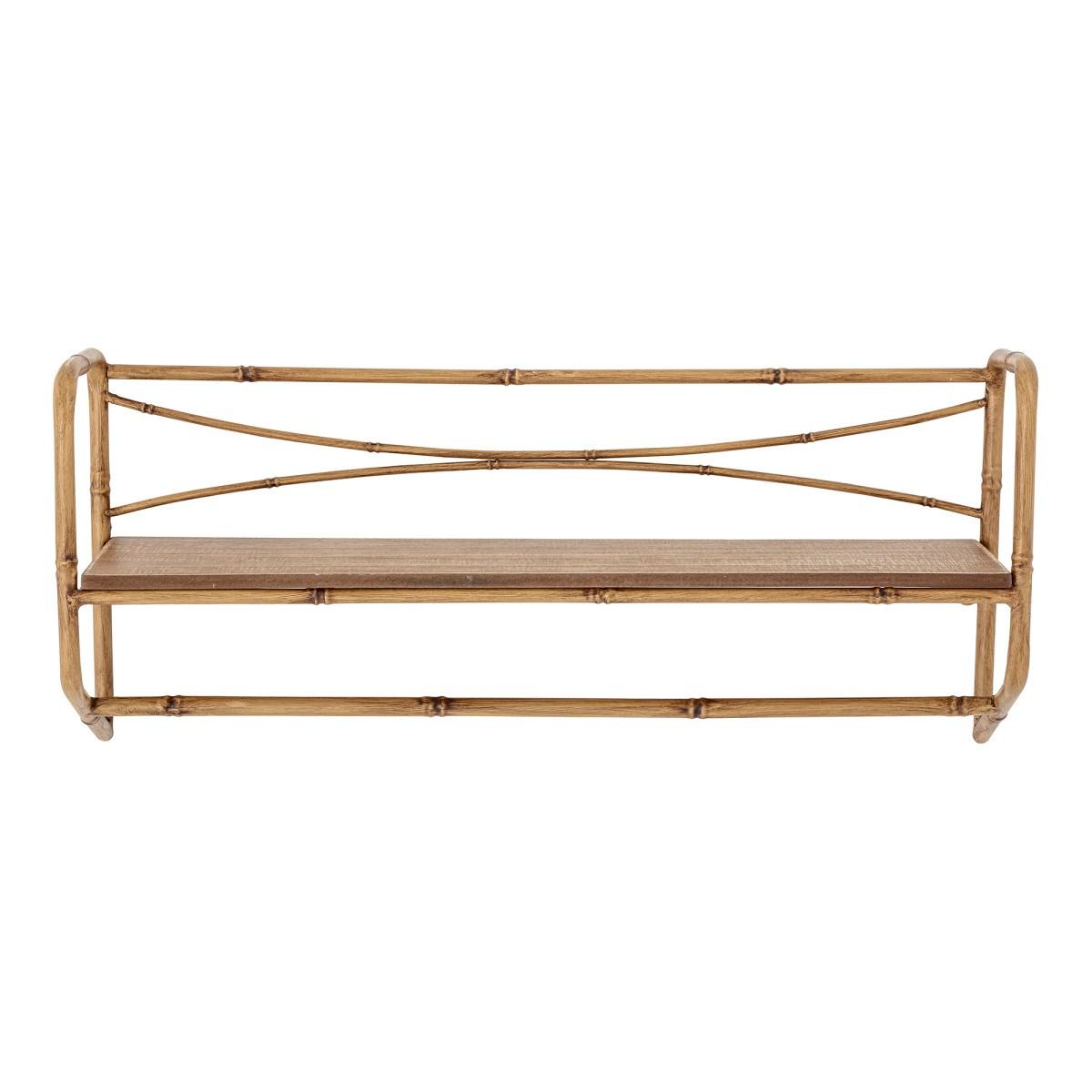 Polička Katja bambus/dřevo 63 cm_2