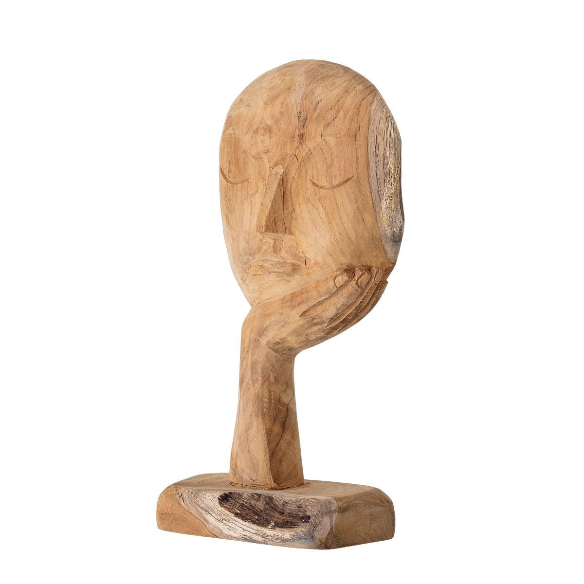 Dřevěná dekorace Face V. 35 cm_0