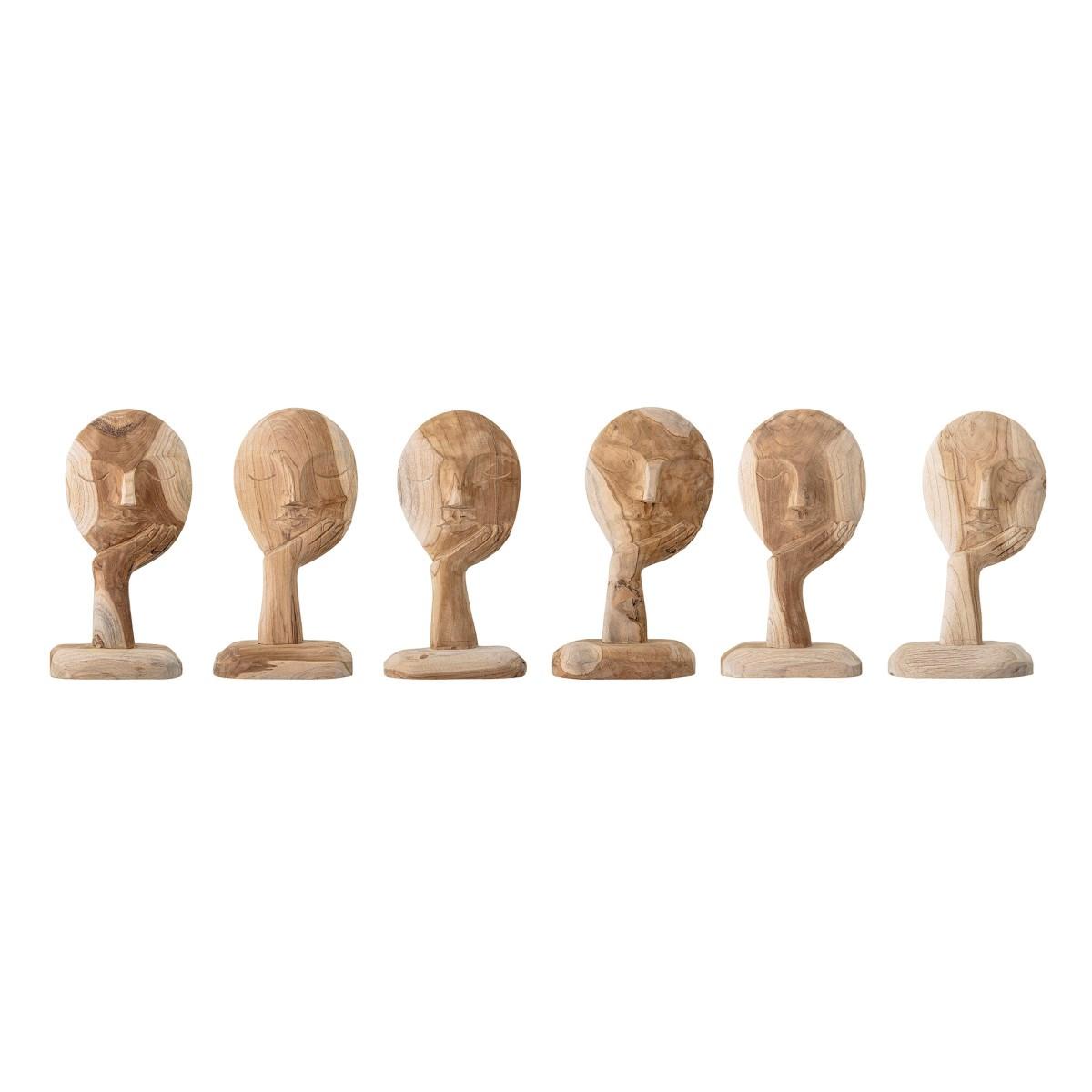 Dřevěná dekorace Face V. 35 cm_5