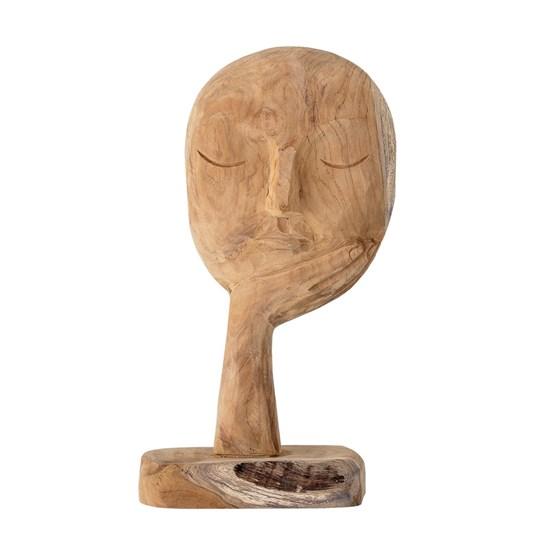 Dřevěná dekorace Face V. 35 cm_6