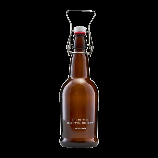 Láhev s patentním uzávěrem hnědá_1